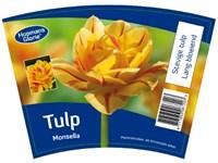 Label voor bloembollen shakers