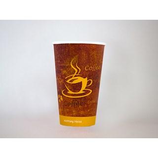 300cc tall Koffiebeker Voorbedrukt Gold Voorbedruk