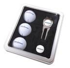 Platinum Gift Tin incl 3 Titleist DT Trusoft Golfb