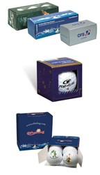1,2,3 and 4 Ball Packs with 2 colours imprint all