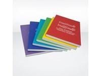 Softcover-Bindung Kassenzettel Notizblock A6 - rec
