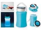 DURABLE, waterproof 3 LED campinglamp met bergruim