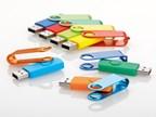USB FLASH MIX, metalen USB FLASH 8 GB interface 20