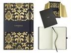 CASTELLI GOLD, notitieboekje met elastiek, 130x210