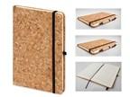 ADRA II, notitieboekje van kurk, 140x210mm