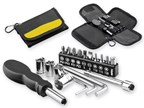 FIXIT, metalen multitool in etui, 19 functies