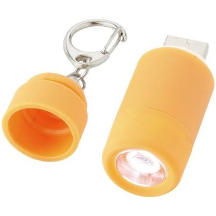 Avior oplaadbaar USB sleutelhangerlampje