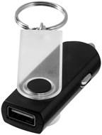 Swivel auto adapter met sleutelhanger