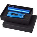 Scout mini multifunctioneel mes met 11 functies en zaklamp in een geschenkset