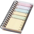 Spiral boekje met sticky notes