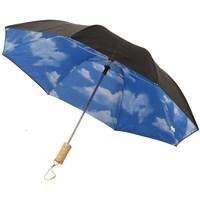 Blue skies 21 2-sectie automatische paraplu