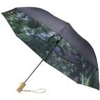 Forest skies 21 2 sectie opvouwbare automatische paraplu
