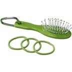 Haarborstel en elastiek