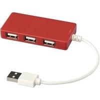 Baksteenvormige USB hub
