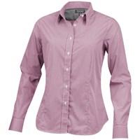 Net dames blouse met lange mouwen
