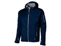 Match heren softshell jack