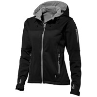 Match dames softshell jack