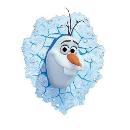 3D Frozen Olaf ledlamp