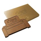 embossed chocolade in eigen vorm