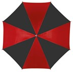 Autom Stick umbrella Disco, blackred
