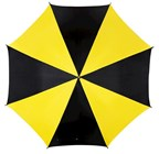 Automstick umbrellaDisco blackyellow