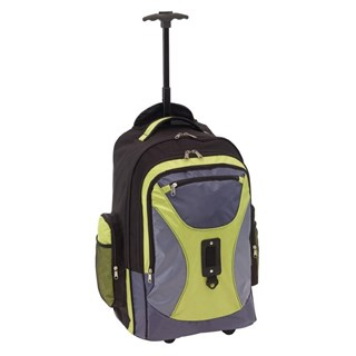 Trolley-backpack'Comforty'600D grijs gre
