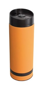 "Flask ""Flavoured"" orange"