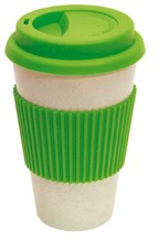 coffee mug 400ml apple green eco cup