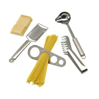 4 delig roestvrijstalen spaghetti set Bolognese in