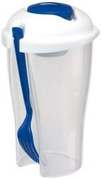 salad Cup Veggie Cup blue
