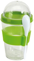 Yogurt Parfait Storage Set, apple green