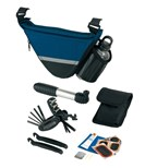 Bicycle Bag with tools + alu drinking bo