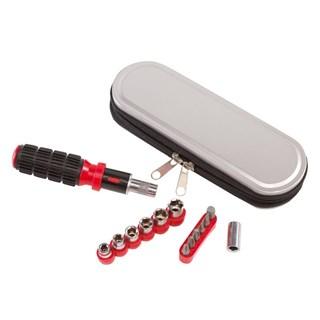14 pcs tools in metal case Simple