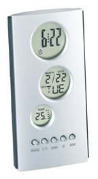 LCD alarmklokje TOWER