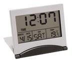 LCD reiswekker met alarm Aster met tijd, dag, datu