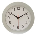 wall clock Easy Time , silver