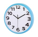 wall clock Halley , light blue