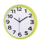 wall clock Halley , neon green