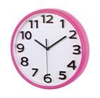 wall clock Halley , magenta