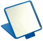 Square comestic mirror,MODEL,blue