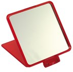 Square comestic mirror,MODEL,red