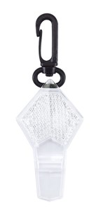 Whistle w reflector WHISTLER, white