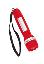 USB Rechargeable Torch, red