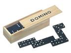 28 delig houten dominospel DOMINO