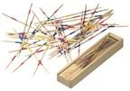 41 delig houten mikadospel Focus in doosje met sch