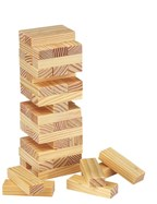 Houten spel stapeltoren High-rise