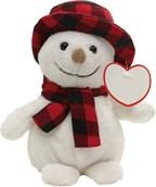 Pluche sneeuwpop JOHANN