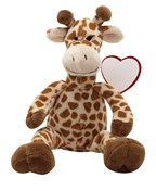 Pluche giraffe Willie