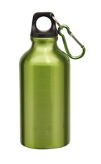 Alu-Drinking bottle Transit, Green