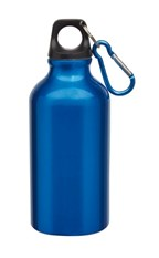 Alu-Drinking bottle Transit, Blue